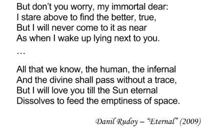 """""""Eternal"""" - Iambic Pentameter Example"""